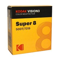 KODAK Vision3 500T, Super 8 cartridge, 50ft / 15m