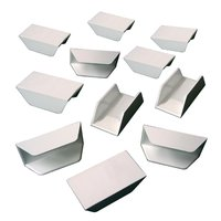Film Clips / Holders for 8mm film, white, 10 pieces