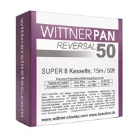 WITTNERPAN 50, Super 8 cartridge, 50ft / 15m
