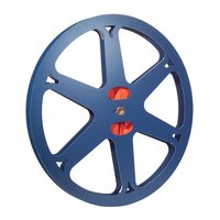 Split Reel  8mm / Super 8, 1000ft / 300m, metal, blue