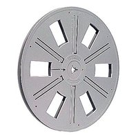 Film Reel Super 8, 300ft / 90m, plastic, grey