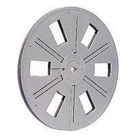 Film Reel Super 8, 600ft / 180m, plastic, grey