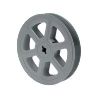 Film Reel 16mm, 200ft / 60m, plastic, grey
