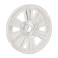 Film Reel Super 8, 100ft / 30m, plastic, clear