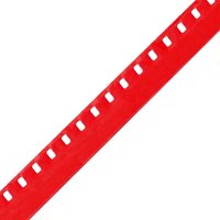 Regular 8 Movie Film Leader, Red, Acetate, 33ft / 10m