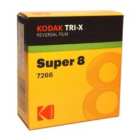 KODAK Tri-X 7266, Super 8 cartridge, 50ft / 15m