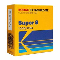 KODAK Ektachrome 100D, Super 8 cartridge, 50ft/15m