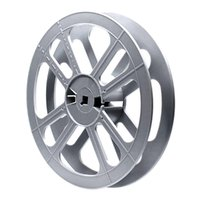 Film Reel 16mm, 400ft / 120m, plastic, grey, V2